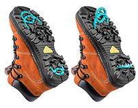 Objective shooting Antigololed shoes