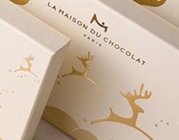 LA MAISON DU CHOCOLAT - LES RENNES DE NOEL