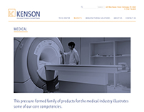 Kenson - Website design