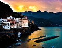 Amalfi Coast - Magazine Spread