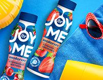 Joy for me - bright bio-yogurts from Avida.