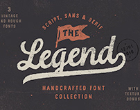 The Legend Font Trio Typography By: Andrey Sharonov
