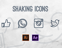Shaking Icons