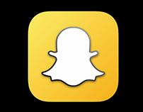 Snapchat Icon Redesign