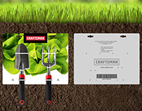 CRAFTSMAN - Gardening Tool Packaging