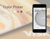 Color picker for eCommerce by Olga Suhinina for Anadea