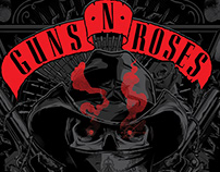 GUNS 'N' ROSES TRIBUTE POSTER