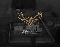Le Brazier - grill restaurant Identity