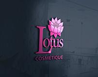 Création Logo Lotus Cosmétique
