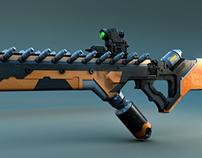 Sci-fi Gun