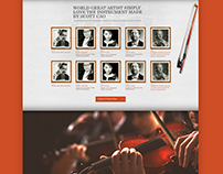 Scotts Violins Web and Branding
