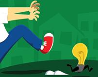 Não deixe suas ideias fugirem!