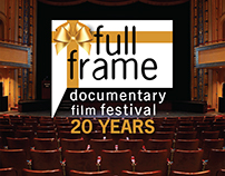 Full Frame Documentary Festival - promo graphics