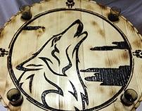 Howling Wolf - Rakija Drinking Table