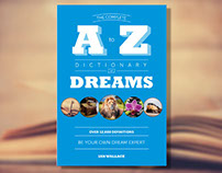 Complete A to Z Dictionary of Dreams Book Cover Design