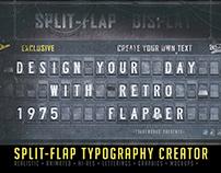 Split-Flap Typography Creator