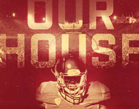 2016 USC Football Spring Poster