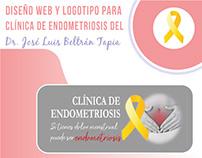 Diseño de imagen + Sitio web - Clínica de Endometriosis