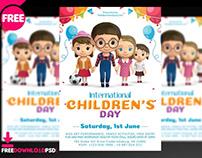 Children's Day Flyer + Social Media Post