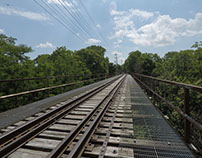 Railroad Track Time Lapse