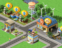 UI Deisgn For Megapolis Game