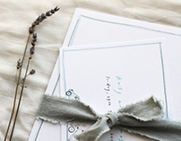 Katy and James' Wedding Invitations