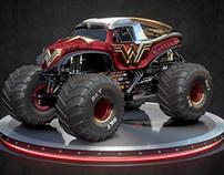 Animation - Wonder Woman - Monster Jam® Monster Truck
