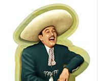 Tequila Pedro Infante / Label