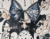 Sia*AlbumArt*Illustration