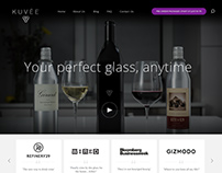 Kuvée Site Design