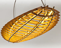 1.6m long Hull pendant light