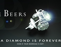 Satirical take on perpetual ad campaign by de Beers