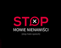 Stop hate speech campaign logo