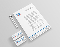 K&i Logo and Stationery Design
