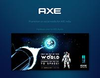 AXE - Social media promotion