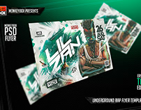 Underground Rap Flyer Template