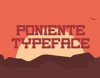 PONIENTE | Free Typeface