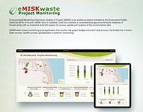 eMISKwaste Project Monitoring (eMISK of kuwait)