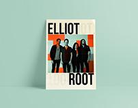 Elliot Root // 2017 Tour Poster