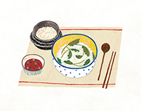 Rice with Spring Greens / Kyobo Life