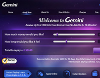 Gemini - Instant Bad Credit PayDay Loans UK