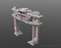 """""""Recognizer"""" model update (Tron Legacy fan art)"""