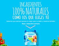 Naturalidad - Colados y picados Nestlé