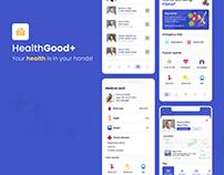 HealthGood+ Personal Healthcare App