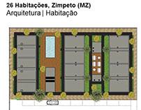 26 Habitações, Moçambique