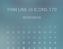 Thin Line UI Icons 170