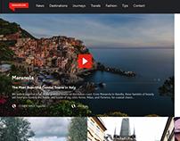 NOMADICLIFE - TRSS—Branding + UX/UI Website