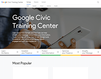 Google Civic Training Center