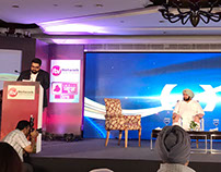Kartikeya Sharma During The Launch of India News Punjab
