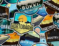 National Park Badge Series